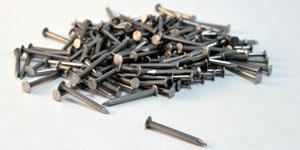 Clavazón, puntas, semences - Cabeza plana